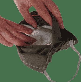 Tasche für Filter