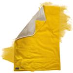 """Kuscheldecke """"Vollkommen"""" – Gelb/Sandweiß – 145 x 210 cm"""