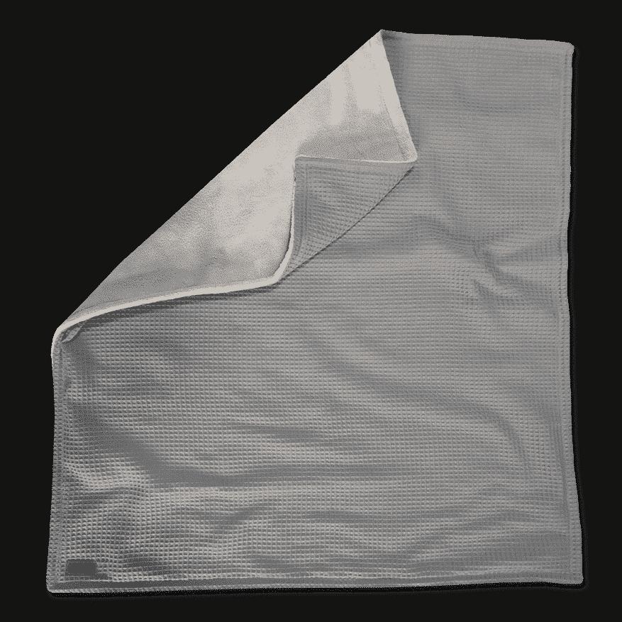 kuscheldecke in grau im xxl format