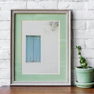"Poster mit Rahmen ""Mediteran"" 30 x 40 cm"